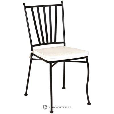 Черный садовый стул helen (ldk garden)