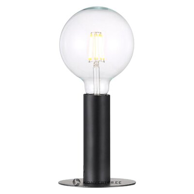 Black design table lamp (nordlux)