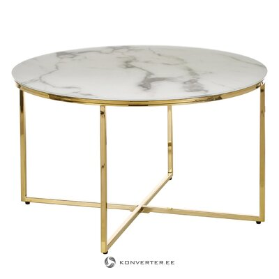 Marmurinis kavos staliukas (antigva) (su defektu salės pavyzdys)