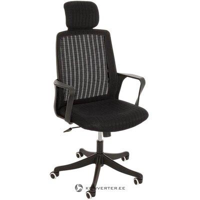 """Juoda biuro kėdė """"Agathe"""" (bizzotto)"""