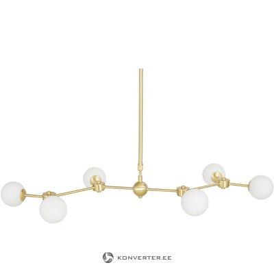 Подвесной светильник бело-золотой (аурелия) (цела холл пробы)