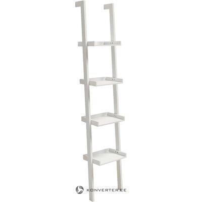 White ladder shelf wally (actona)