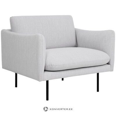 Gray armchair moby