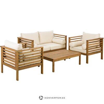 Комплект садовой мебели 4-х местный (бо) (с косметическими дефектами образец прихожей)