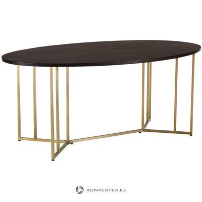 Ovāls pusdienu galds (luca)