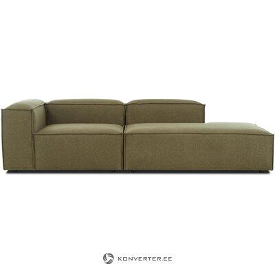 Модульный зеленый диван (полет)