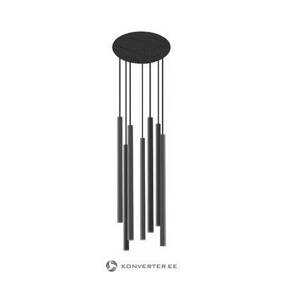 Черный потолочный светильник лазерный (новодворский)