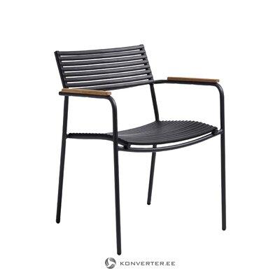 Черный садовый стул mood air (cinas)