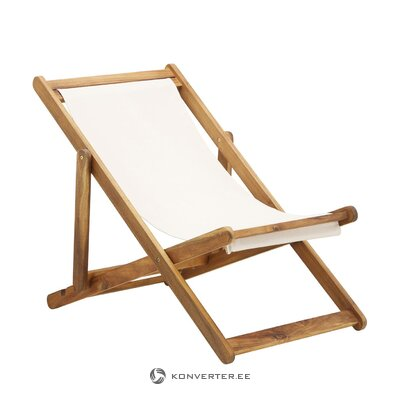 Коричнево-белый садовый стул zoe (azzure creek)