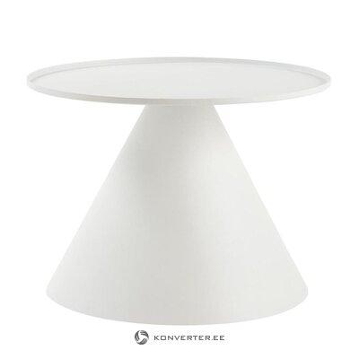 Белый журнальный столик kos (unico milano)