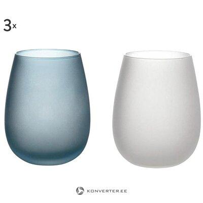 Набор стаканов для воды из 6 предметов blue dream (galileo)