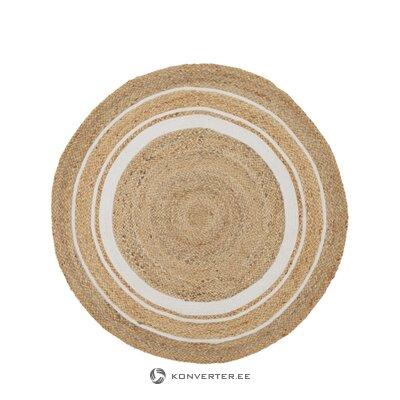 Pyöreä matto (apila)