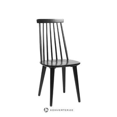 Musta tuoli lotta (rowico)