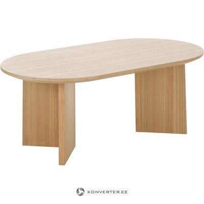Šviesiai rudas kavos staliukas (tonas)