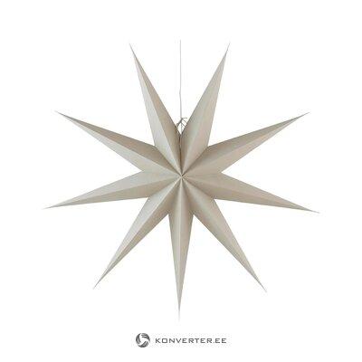 Kalėdų žvaigždė su šviesa andromeda (jotex)