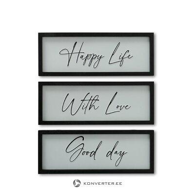 Dekoratīva sienu apdare laimīga dzīve (boltze)