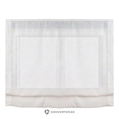 Light gray curtain roman (cintacor)