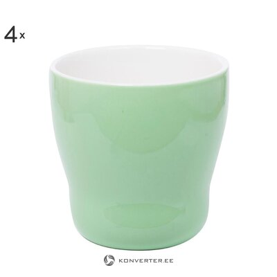 Drink cup set 4 pcs happy (overbeck and friends)