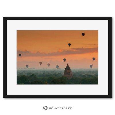 Mjanmas saulrietu tapetes (c-con)
