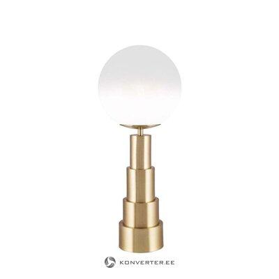 Kultainen pöytävalaisin Astro (globen -valaistus)