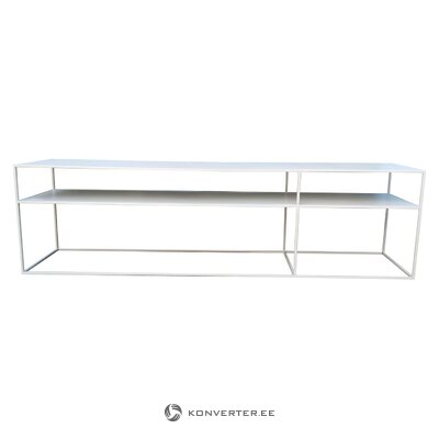 Balts televizora statīvs (saigon) unico milano