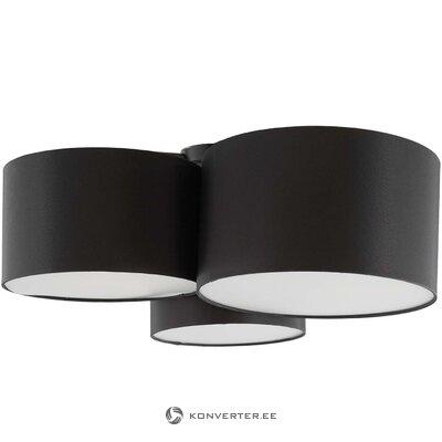 Juodas lubų šviestuvas (lucke)
