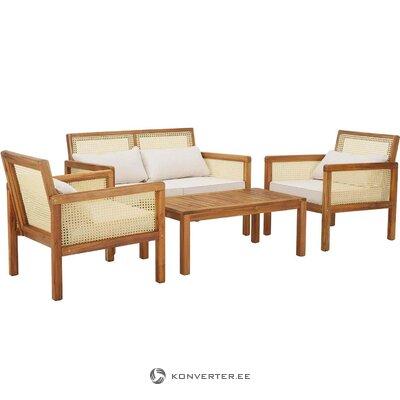 Garden furniture set 4-piece (vie)