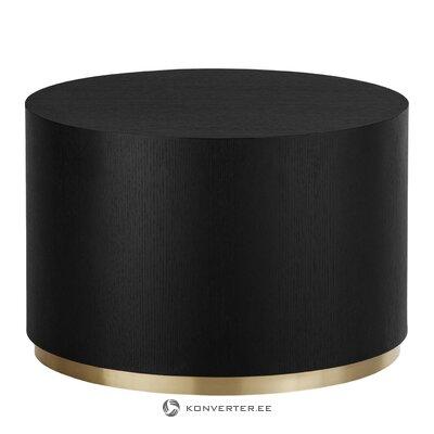 Melnā zelta kafijas galdiņš (dzidrums)