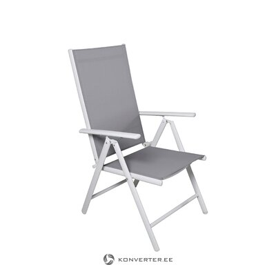 Gray-white garden chair break (venture design)
