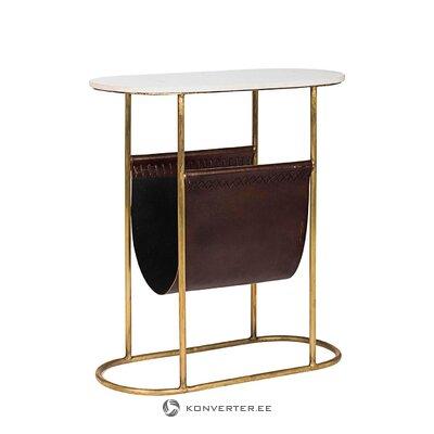 Dizaino marmurinis sofos stalas (bizzotto)