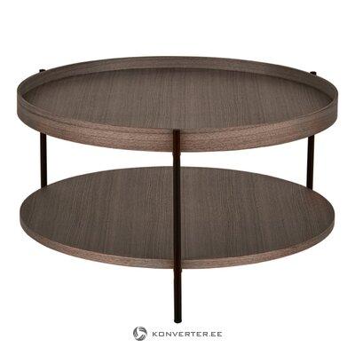 Tumši brūns kafijas galdiņš (renee)
