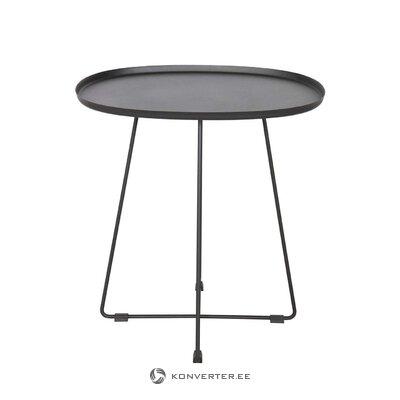 Melna metāla kafijas galdiņš otis (de Eekhoorn)