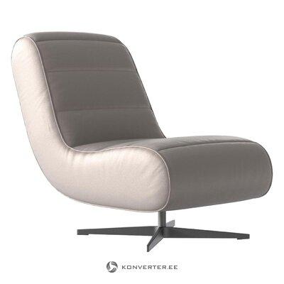 Design velvet armchair ziggie (bench & berg)
