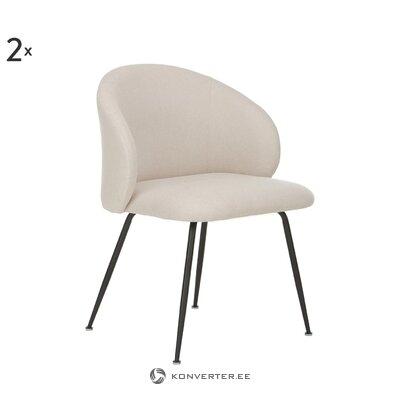 Beige-black chair (luisa)