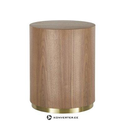 Brūns kafijas galdiņš (dzidrums)