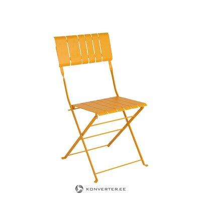 Yellow garden chair bradano (brafab)