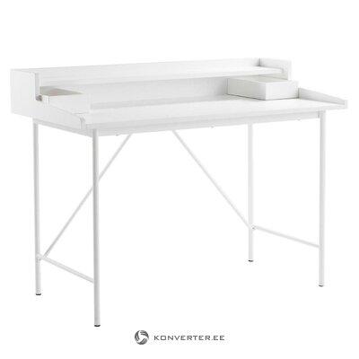 Valkoinen muotoilupöytä fridhem (Jotex)
