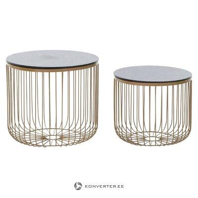 Sofa table set roxana (inart)