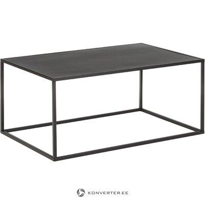 Melna metāla kafijas galdiņš (Neptūns)