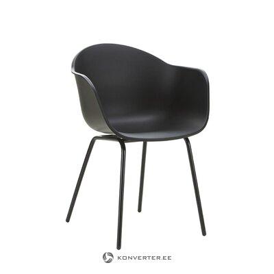 Melns krēsls (Claire)