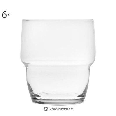 Drinking glass set 6-piece stoccolma (bergamaschi & vimercati)
