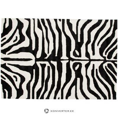 Mustavalkoinen matto kapstadt (anderson) 200x300 cm
