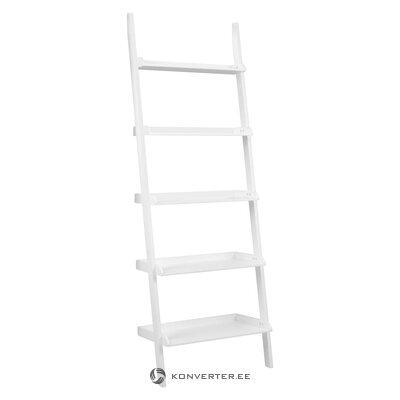 White ladder shelf (actona) (in box, whole)