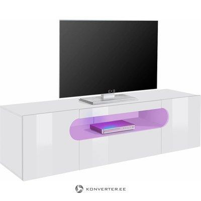 Valkoinen High Gloss TV -kaappi (150cm leveys)
