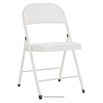 Bēšs saliekamais krēsls (bizzotto) (kastē, vesels)