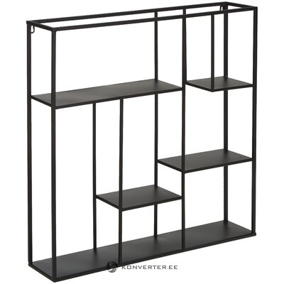 Metal wall shelf regular (bizzotto) (with beauty defects hall sample)