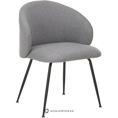 Gray-black chair (luisa) (intact sample)