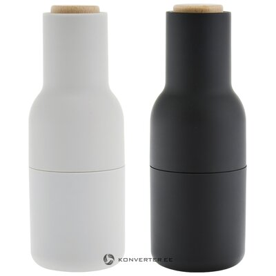 Salt and pepper mill grinder (menu) (with beauty defects, hall sample)