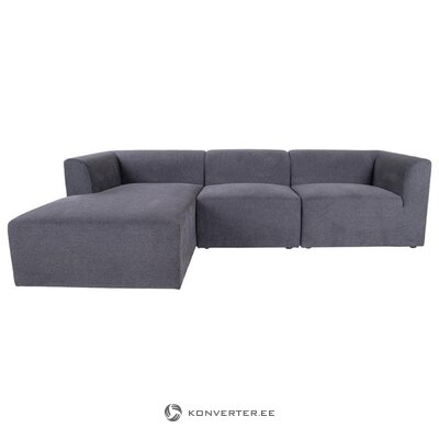 Tamsiai pilka kampinė sofa alba (house nordic)