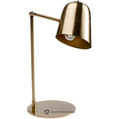 Золотая настольная лампа clive (грубый дизайн)